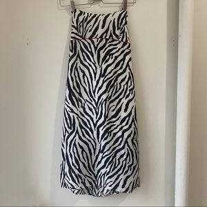 Tommy Hilfiger 90s Zebra Dress
